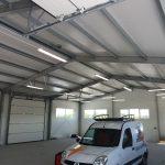 Instalacja elektryczna w hali